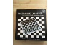 Unusual chess drinking game never used