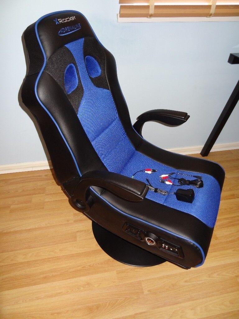 Excellent X Rocker Adrenaline Gaming Chair Ps4 Xbox One Ipod Ipad Mp3 Bluetooth Speaker In Pontypridd Rhondda Cynon Taf Gumtree Uwap Interior Chair Design Uwaporg