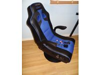 X-Rocker Adrenaline Gaming Chair, PS4 & Xbox One iPod iPad MP3 Bluetooth Speaker