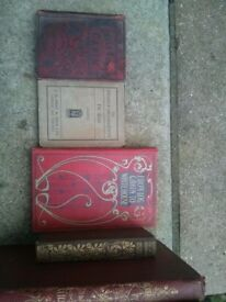 Collection Of Old Books.