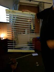 New white blinds