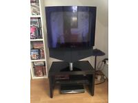 Vintage Bang & Olufsen BeoCenter 1 TV + remote control- rare and in good working order