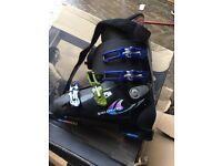 Salomon ski boots size 9.5