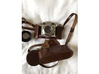Vintage Braun Super Paxette Film Camera