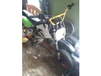 110semi auto pitbike needs few bits