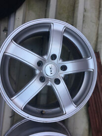 TEC Alloy wheels 17 inch VW Volkswagen Touareg transporter T5 T6 Vauxhall insignia alloys wheel