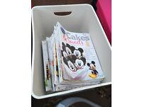 Disney cakes and sweets cookery books