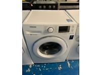 Samsung white eco bubble 9kg washing machine