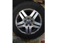 Vw mk 4 golf alloy wheels