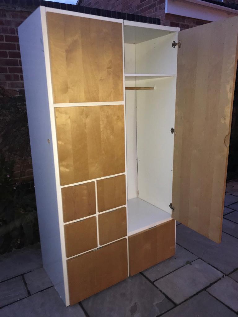 *IKEA RAKKE WARDROBE/CUPBOARD ~ REDUCED NEEDS REPAIR*
