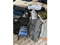 Designer boys 9/10 bundle of clothes trainers