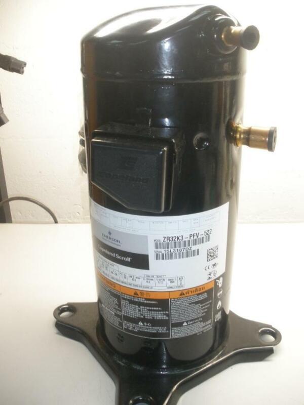 Emerson Copeland Scroll Compressor ZR32K3-PFV-522 NEW