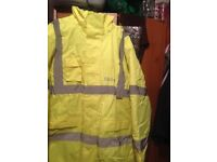 High vis security jacket
