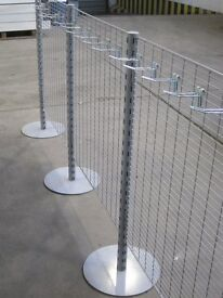 Retail Gridwall Hanging Barrier