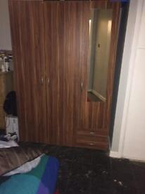 Three doors wardrobe for sale