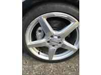 Mercedes Cls alloys wheels 19 in