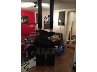 PA speakers HK Audio Elements Easy Base line array PA column system