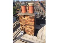 Small roof repairs, guttering repairs, chimney repairs