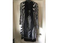 Q'Neel Dress and Jacket - Size 18 - unworn