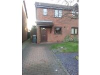 Gatcombe Grove, Sandiacre. Lovely 2 bedroom semi with garden and driveway.