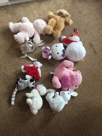 Cuddling toys