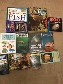 Fish books x 12