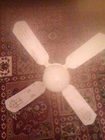 Kitchen fan for the cell