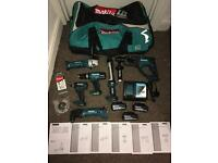 BRAND NEW Makita cordless set.