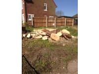 Logs for a wood burner