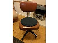 1960s Metal Framed Desk Chair