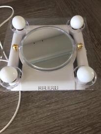Revlon light up folding makeup mirror