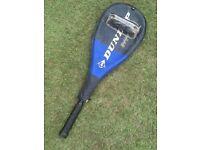 Dunlop Black Max Performance Graphite Squash Racket VGC, Balls, Case
