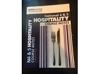 National 4 & 5 Hospitality Course Notes