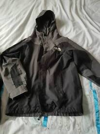 Boys The North Face hyvent 3 in 1 coat