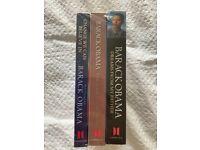Barack Obama - 3 books - new and sealed