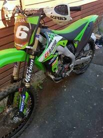 2011 Road registered Kxf250