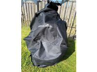 Massage Chair Massage Royal Black & Bag Portable