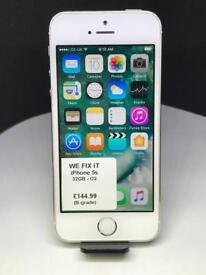 IPHONE 5S 32GB O2 TESCO GIFFGAFF SILVER