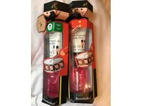 Boots Pink Peppermint candy swirl gift sets Rrp £5 each