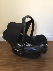 Maxi cost Cabrio fix car seat rear facing