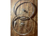 26 inch Chrome Bicycle Wheels - BMX / Cruiser