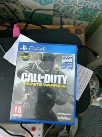 New call of duty and fifa 17