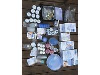 Complete baby bottle kit