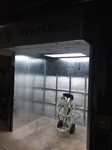 VENTLESS SPRAYBOOTH SPRAY BOOTH (WOODWORK AND INDUSTRIAL)