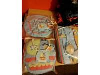 Nursery set curtains etc