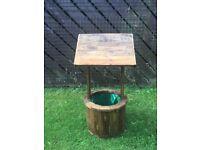 Wooden Well Planter