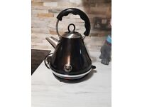 Matching NEXT black kettle & toaster and Russell Hobbs Microwave