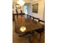 Dining Table Extendable Regency