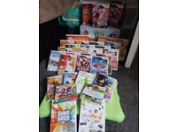 Special edition nintendo wii with 31 games and full band hero set and loads of accessories