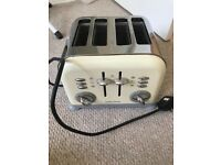 Morphy Richards toaster - £20